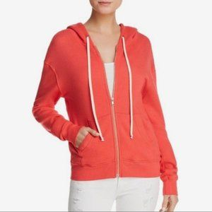 Pam & Gela Crossover Back Zip Up Hoodie Size XS